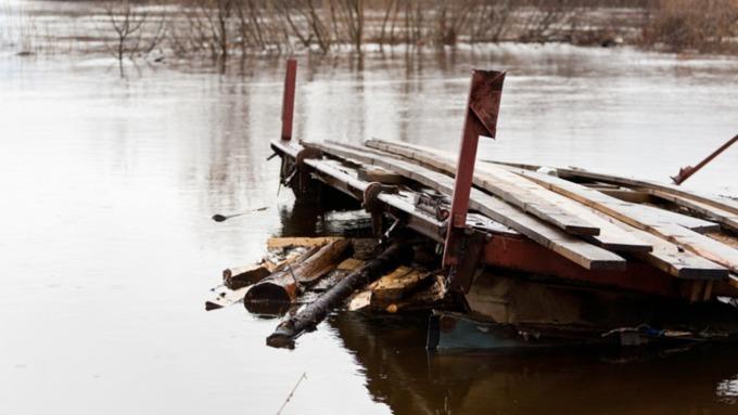 В барнаульском районе Затон сохраняется риск подтопления