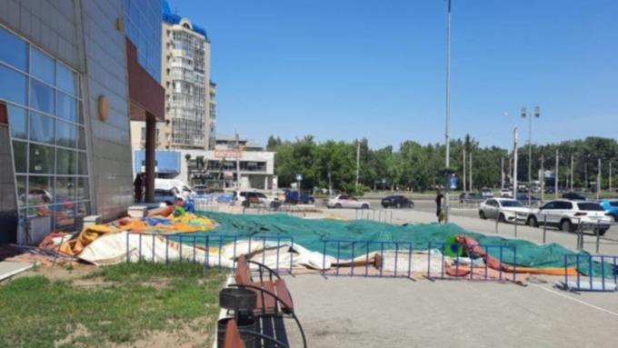 Прокуратура начала проверку после сообщений о травмировании мальчика на батуте в Барнауле