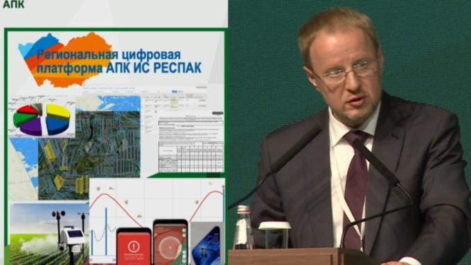 Виктор Томенко отчитался об итогах работы сельского хозяйства Алтайского края