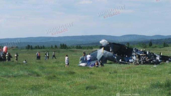 Алтайский парашютист рассказал подробности о падении самолёта в Кузбассе