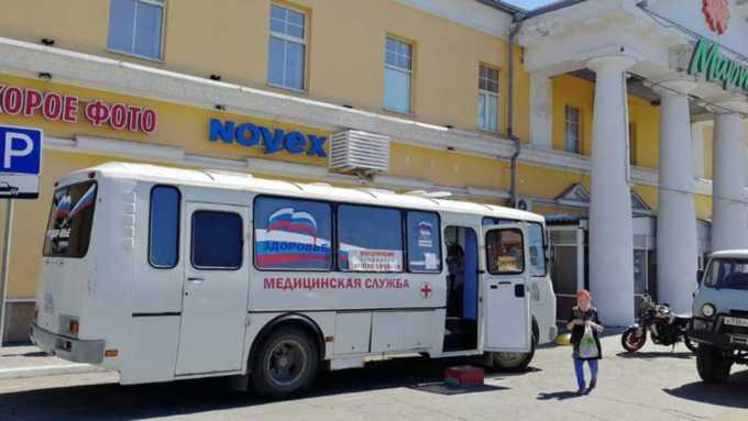 Рекордное число жителей Алтайского края привили от коронавируса за сутки