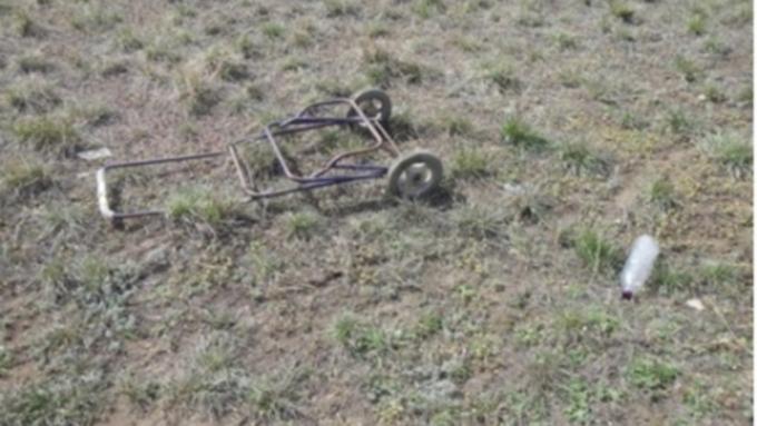 Славгородец убил знакомого и вывез его тело на тележке на пустырь