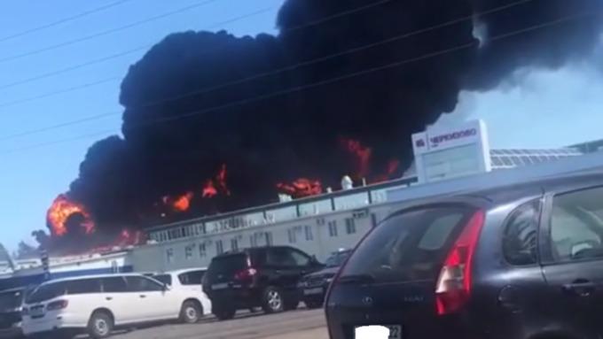 """В МЧС рассказали подробности пожара на """"Алтайском бройлере"""""""