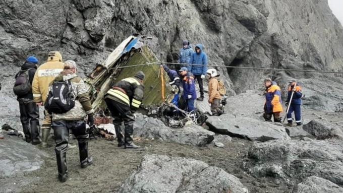 На Камчатке нашли нашли фрагменты тел всех погибших при крушении Ан-26