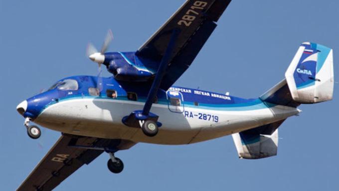 Пропавший в Томской области самолет Ан-28 обнаружили