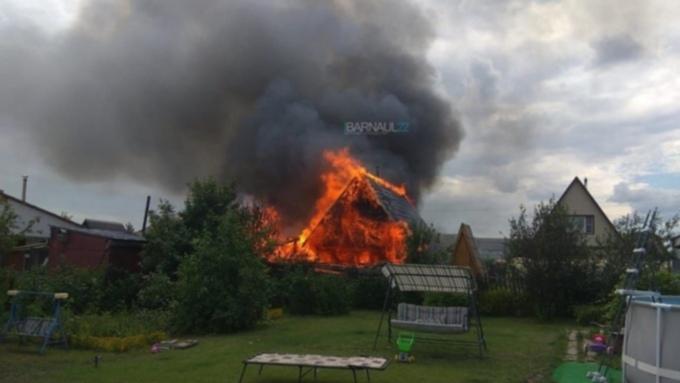 Такой день. Приостановка производства гречки на Алтае и пожар в барнаульском садоводстве