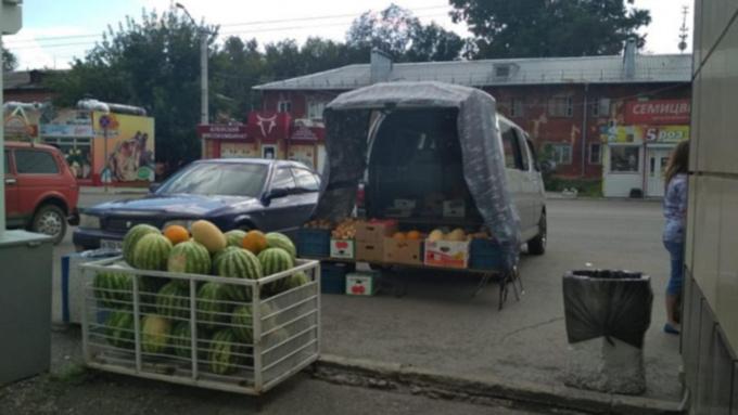 Барнаульцы пожаловались Путину на уличных торговцев