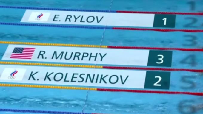 Россия впервые за 25 лет взяла золото Олимпиады в плавании