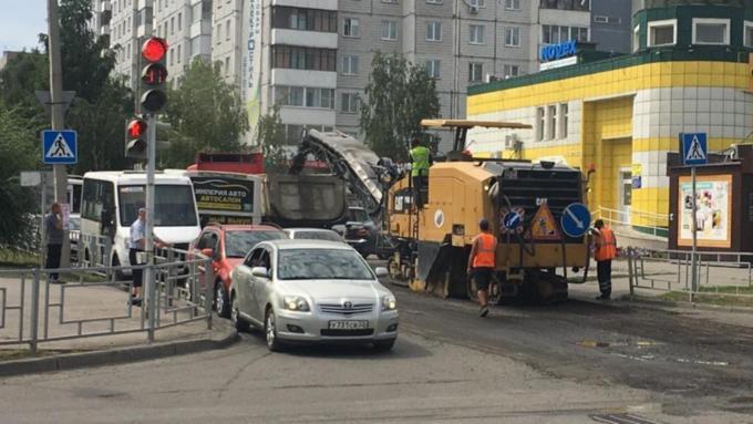 Еще одну улицу отремонтируют в Барнауле за 37,5 млн рублей