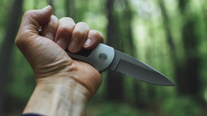 Мужчина с ножом пробрался в детский сад в Санкт-Петербурге