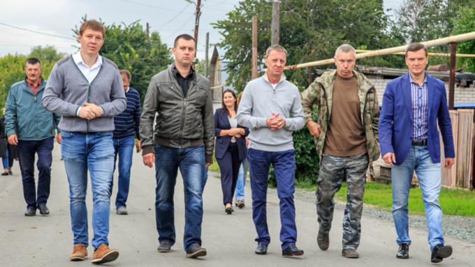 Мэр Вячеслав Франк провел рабочий объезд Железнодорожного района Барнаула