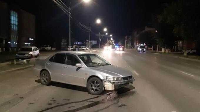 В Барнауле молодой водитель сбил мужчину на пешеходном переходе
