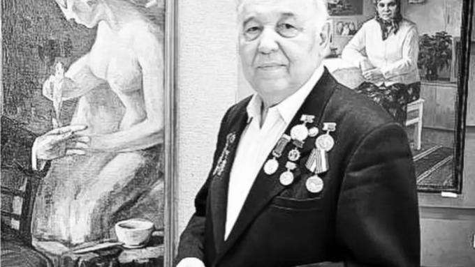 Ушёл из жизни известный алтайский художник Ильбек Хайрулинов
