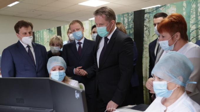 Мурашко оценил модернизацию первичного звена здравоохранения в Барнауле