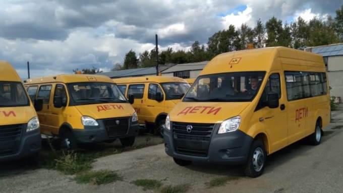 100 новых автобусов получат школы Алтайского края