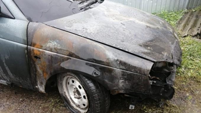 В Алтайском крае поймали подозреваемого в поджоге полицейского автомобиля