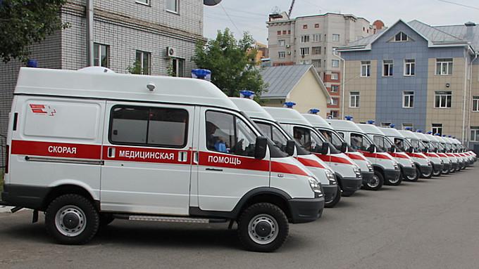 Больше 70 млн рублей выделили на новые машины скорой помощи для Алтайского края