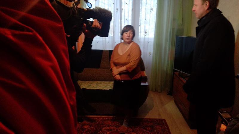 Глава Первомайского района ответил женщине, которая молила Медведева о горячей воде