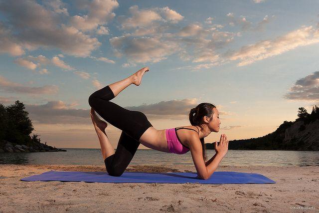 Самые красивые позы в йоге
