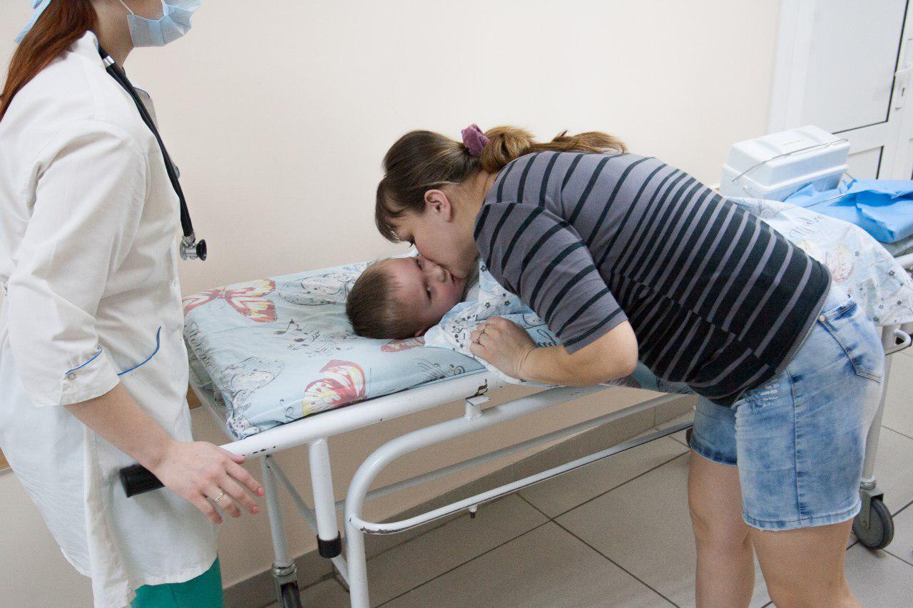Дети больные раком. фото