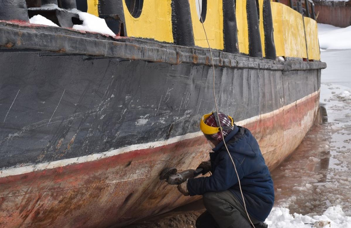 Речной флот вАлтайском крае готовят кнавигации 2018 года