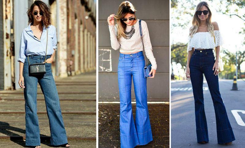d1f928e639b Джинсы-клеш снова в моде   Фото  WomanChoice.netДжинсы – универсальная и  незаменимая часть гардероба