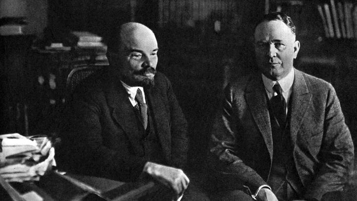 amic.ru: Владимир Ленин и Герберт Уэллс