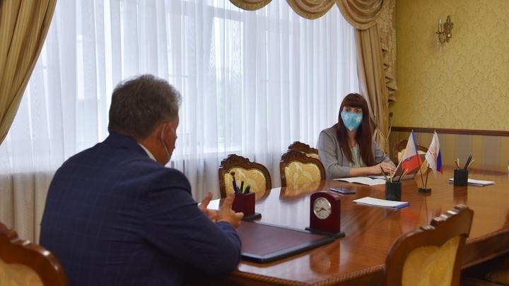 amic.ru: Александр Романенко и Александра Черданцева. Фото: пресс-служба АКЗС