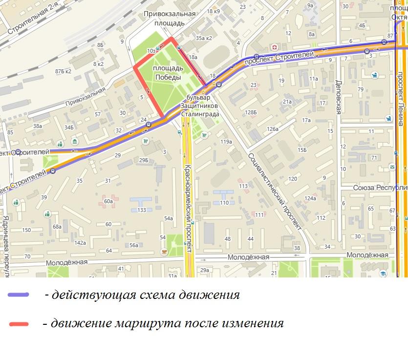 Схема улиц в барнауле
