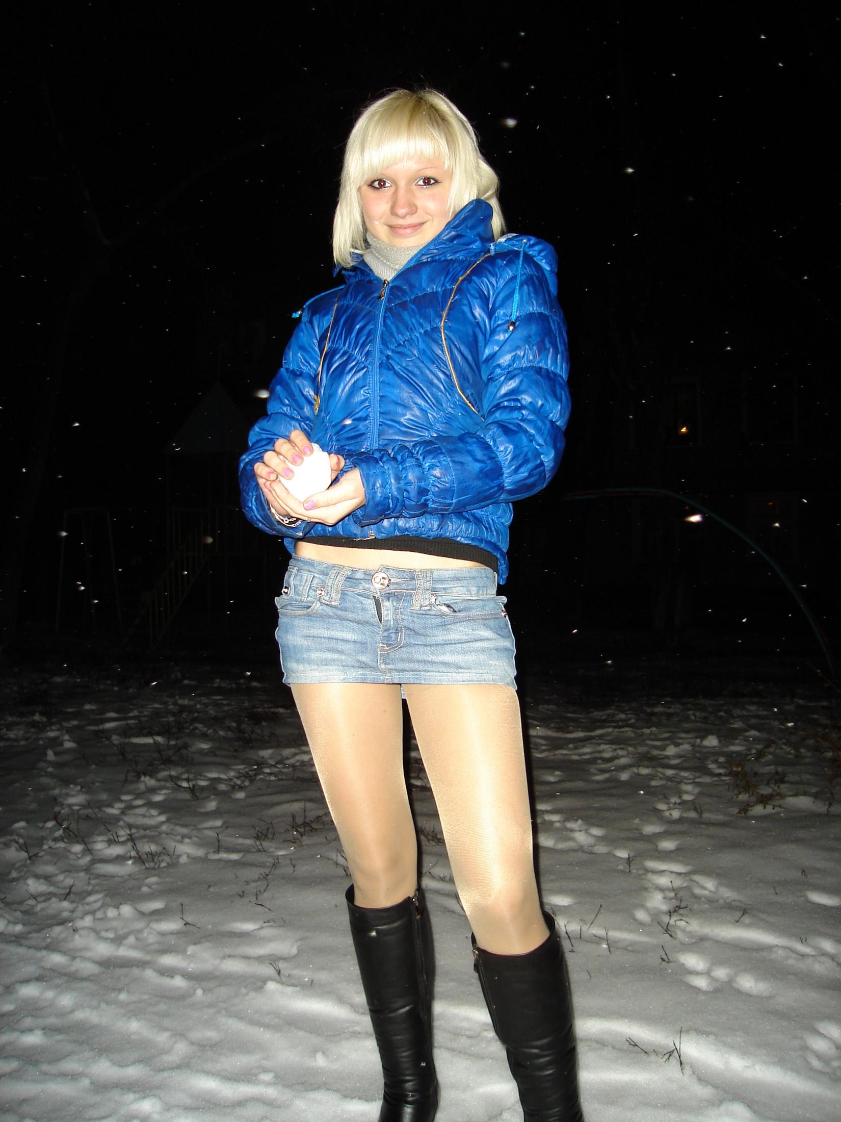 Русское порно с девочками в юбках
